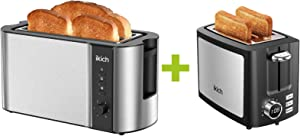 IKICH CP144 Toaster 2 Long Slot + IKICH CP210 Toaster 2 Slice