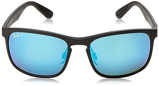 7bf549e98c1 Amazon.com  Ray-Ban RB4264 Chromance Lens Square Sunglasses