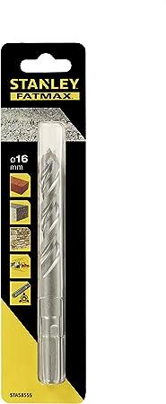 Stanley Sta58555 Qz Brocas Para Piedra Con Vu00e1stago De 3 Cara 16x150mm Amazon Co Uk Diy Tools