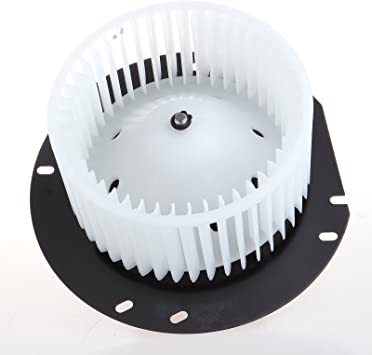 SCITOO ABS plastic Heater Blower Motor w//Fan HVAC Resistors Blowers Motors Replacement fit for 1997-2013 Ford E150 Van //1997-2013 Ford E250 Van //1997-2013 Ford E350 Van Front