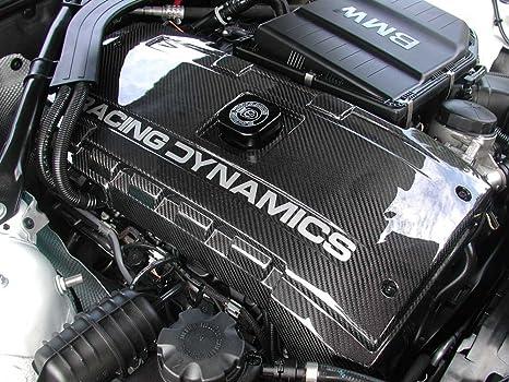 De fibra de carbono cubierta de motor para BMW Modelos con Motor de N54