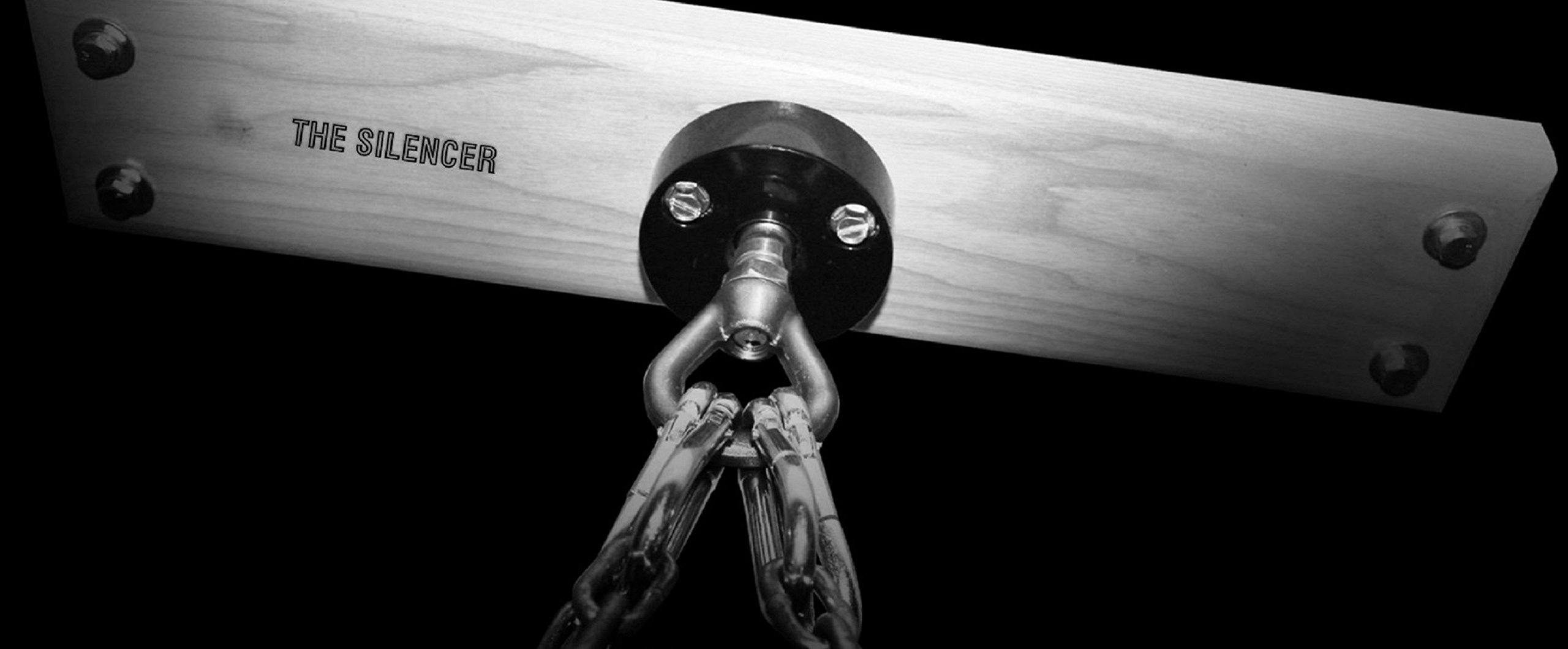 Heavy Punching Bag Hanger Mount ''The Silencer'' by ACCU-TECH (Image #1)