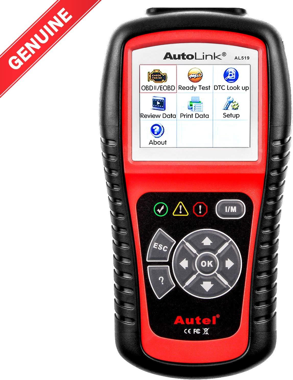 Autel Autolink AL519-Lector de código OBD II / EOBD con Modo 6,Versión avanzada de Autel AL319