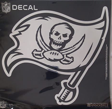 Image Unavailable. Image not available for. Color  Tampa Bay Buccaneers Bucs  6 quot  Medium Silver Metallic Vinyl Auto Decal NFL Football cb483892e