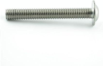 Edelstahl A2 V2A - ISO 7380 Linsenkopf Schrauben mit Flachkopf und Bund Eisenwaren2000 Gewindeschrauben 10 St/ück M3 x 3 mm Linsenkopfschrauben mit Innensechskant und Flansch rostfrei