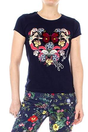 Desigual Mujer Camisetas: Amazon.es: Ropa y accesorios