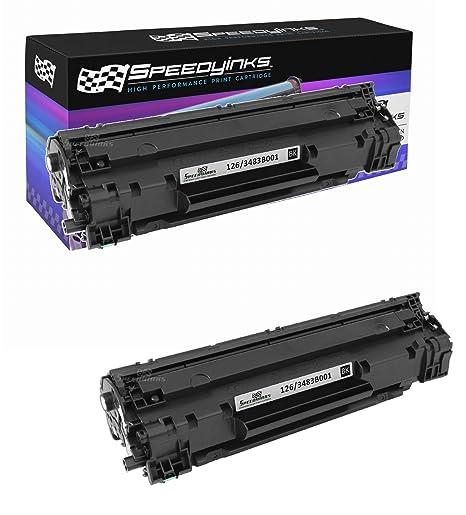 3483B001 4PK Compatible BK Toner Cartridge for Canon126 ImageClass LBP6200d