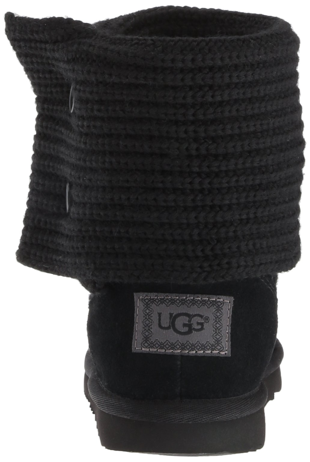UGG Girls K Cardy II Pull-On Boot, Black, 8 M US Toddler by UGG (Image #2)