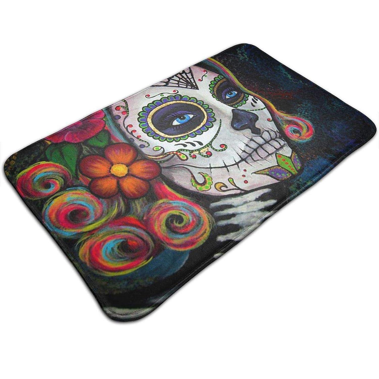 Amazon.com: Tuoneng Sugar Skull Candy,Kitchen Carpet Rug ...