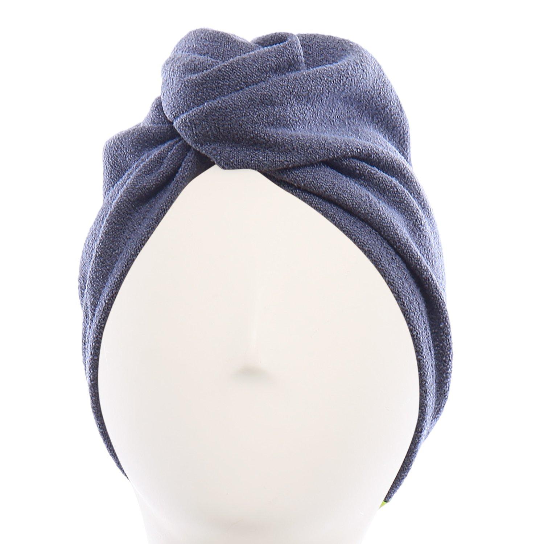 Aquis Original Microfiber Hair Turban, Dark Grey by AQUIS