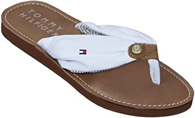 f309aed27c122 Image Unavailable. Image not available for. Colour  Tommy Hilfiger Monica  Flip Flops ...