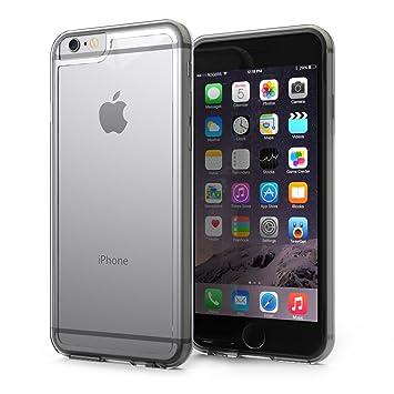 KHOMO® Funda iPhone 6 y 6S Híbrida Carcasa Transparente Anti-Arañazos con Bumper Invisible Protector Antichoque para el nuevo Apple iPhone 6 / 6S ...