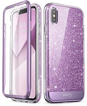 iphone xs coque violet
