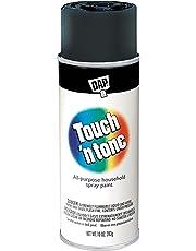Rust-Oleum 55276830 Touch 'n Tone 10-Oz Gloss Spray Paint, Black