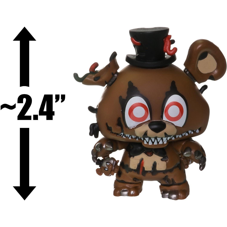1 Official FNAF Trading Card Bundle 14002 Nightmare Freddy: ~2.4 Funko Mystery Minis x Five Nights at Freddys Series II Mini Vinyl Figure BCC9454540
