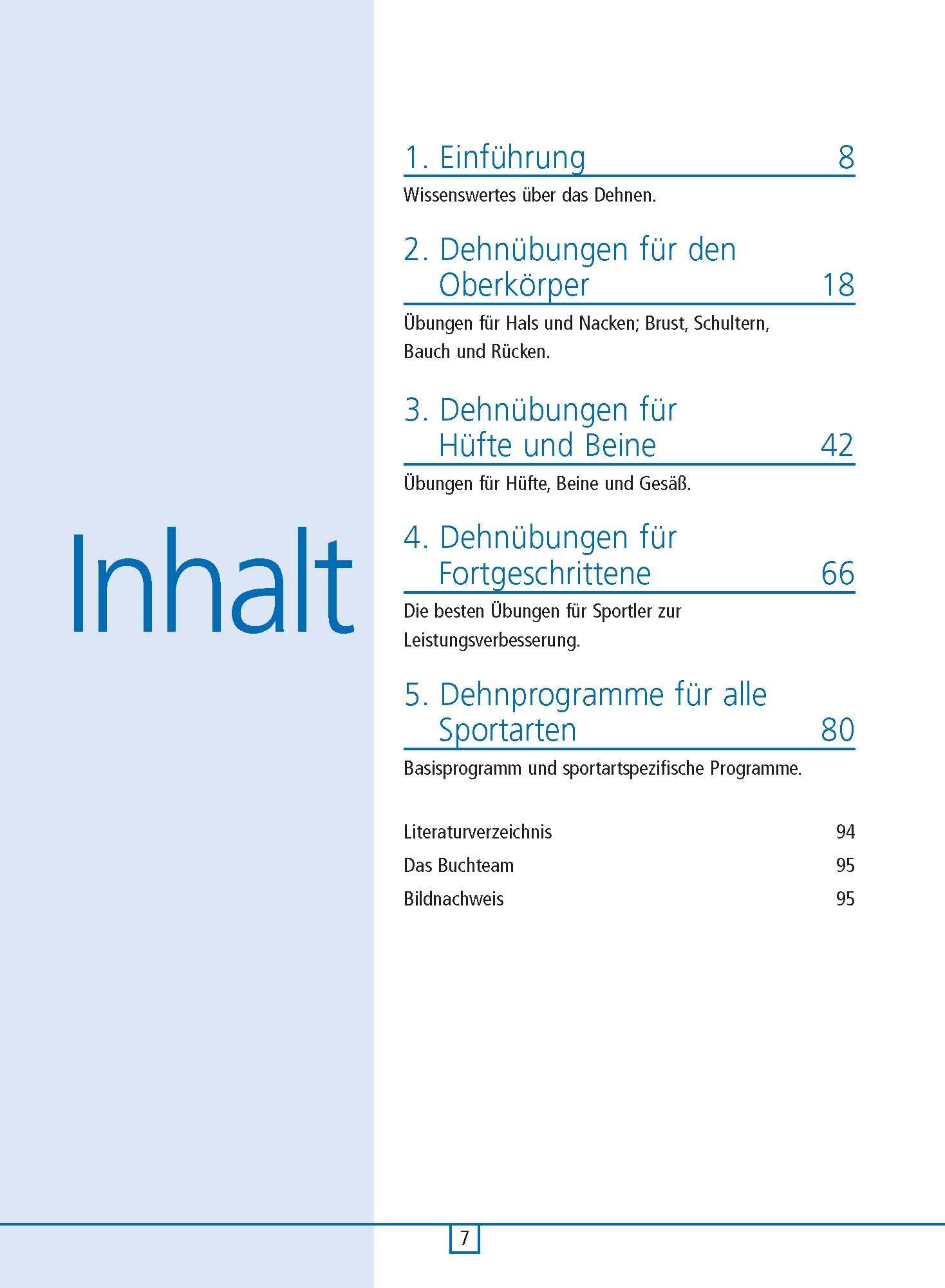 Best Stretching Dehn-Übungen für alle Sportarten Übungen Training Tipps Buch NEU Sport Sachbücher