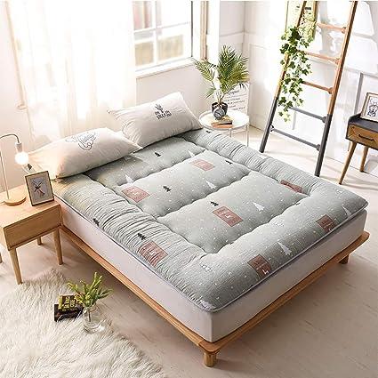 FUMT Colchones Protector de colchón Estera de meditación Almohadillas de colchón Esteras del Tatami Colchón de
