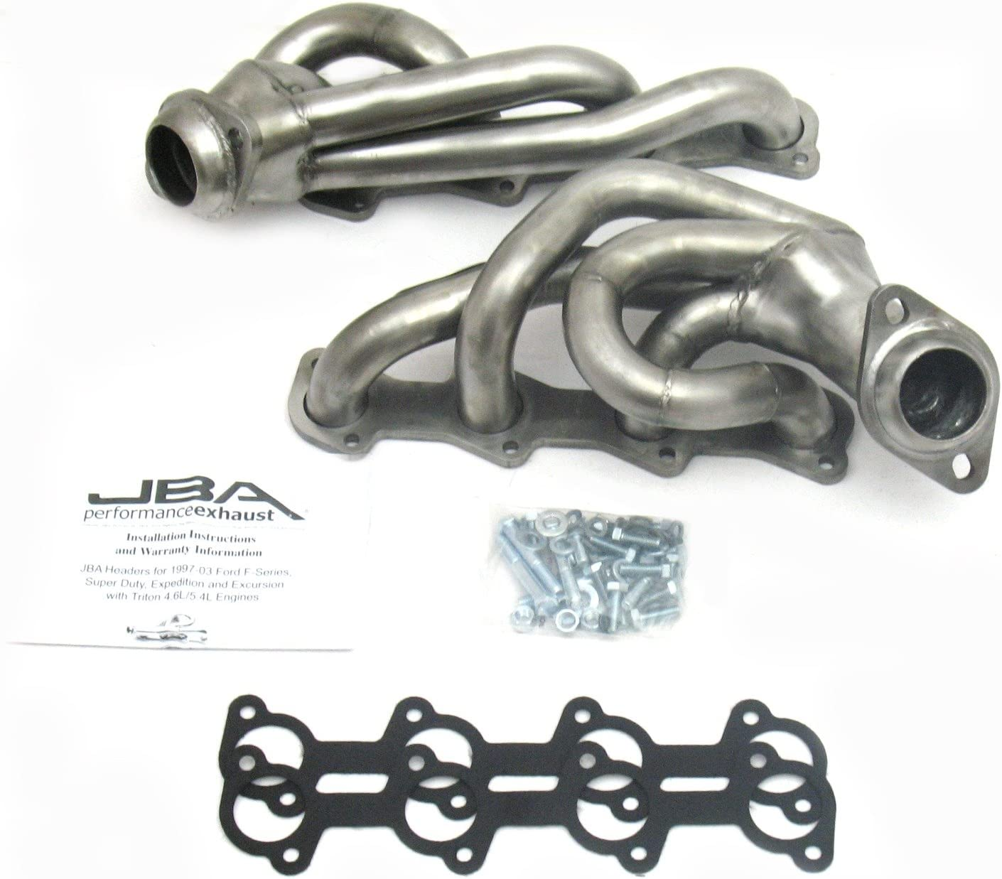 JBA 1679S 1-1//2 Shorty Stainless Steel Exhaust Header for Ford Truck 5.4L 2V 97-03