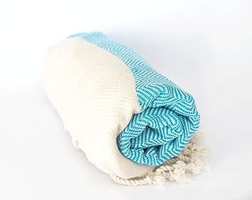 Shoreward toallas salvavidas Toalla turca ligera de lujo. playa, piscina o hogar 100% algodón.: Amazon.es: Belleza