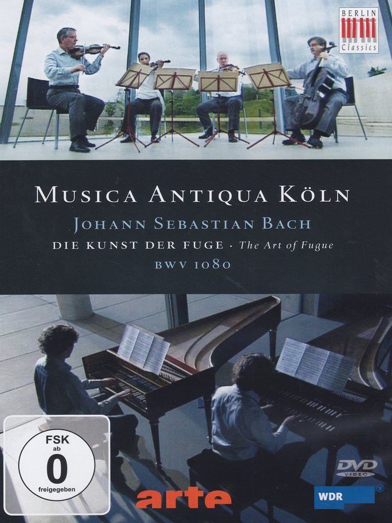 Image result for goebel art fugue ando dvd berlin classics