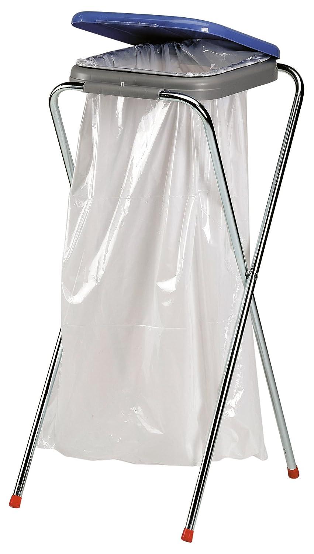 Axentia supporto sacco della spazzatura, metallo, Multicolore, 36x 42x 78cm 116940