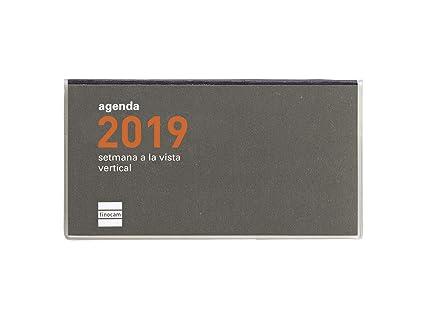 Agenda de bolsillo 2019 semana vista apaisada catalán
