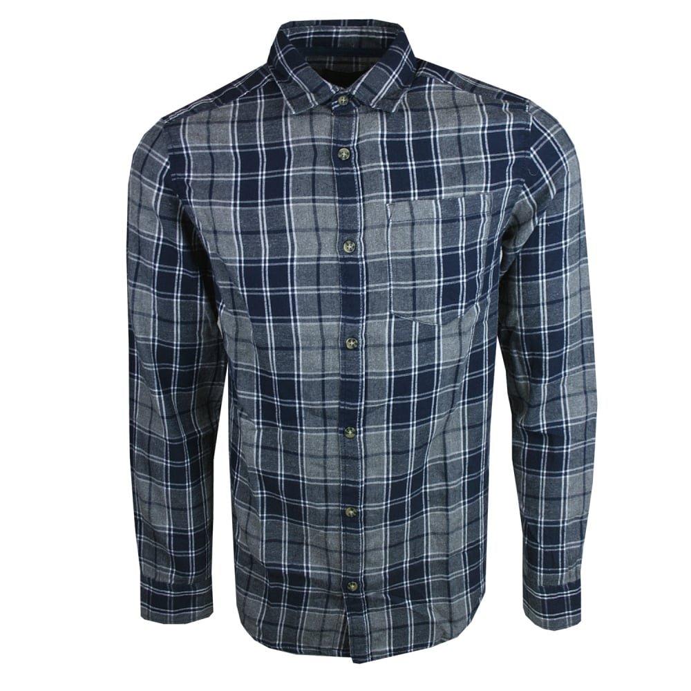 JACK & JONES Jorchristopher Shirt LS Camisa para Hombre