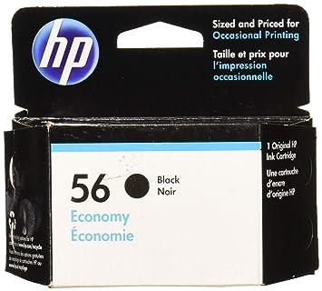 Amazon.com: HP 56 negro 56 economía cartucho de tinta negro ...
