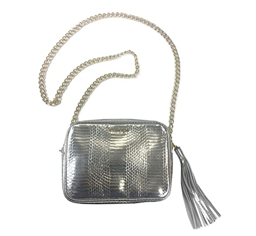 15ca188876a NEW Genuine VICTORIA'S SECRET Silver Cross-Body Handbag Messenger ...