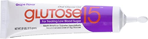 PADDOCK LABORATORIES Glucose Gel Tube, Grape, 37.5g, 3 Count