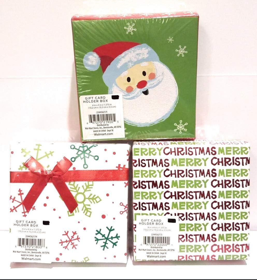Christmas Card Holder  x 3 Assorted Packs