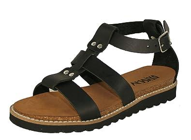 13f2f8cb305 Oxygen Footbed Sandal KASSANDRA BLACK (5)  Amazon.co.uk  Shoes   Bags