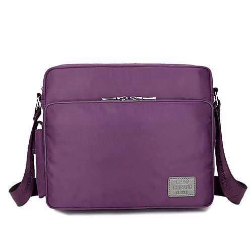 alta calidad elegir despacho buena textura Outreo Vintage Bolso Bandolera Messenger Bag Bolsos Mujer Bolsa Hombre  Bolsos Originales para Escolares Colegio Libro Tablet Nylon Bolsas