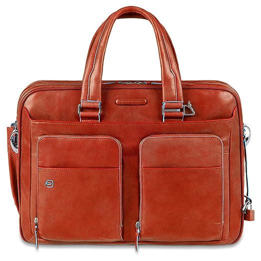 18 opinioni per Piquadro CA2765B2 Borsa, Collezione Blu Square, Arancione