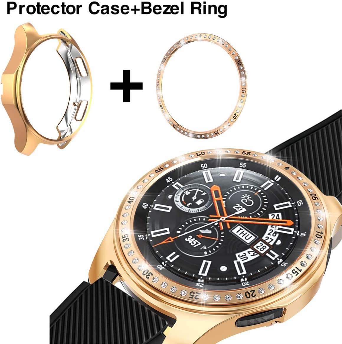 Bezel Loop, Protector Case Para Galaxy Watch 42mm Smartwatch