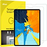JETech JETech 2-Pack Screen Protector for iPad Pro 11-Inch (2018 Release Edge to Edge Liquid Retina Display), Face ID Compatible, Tempered Glass Film