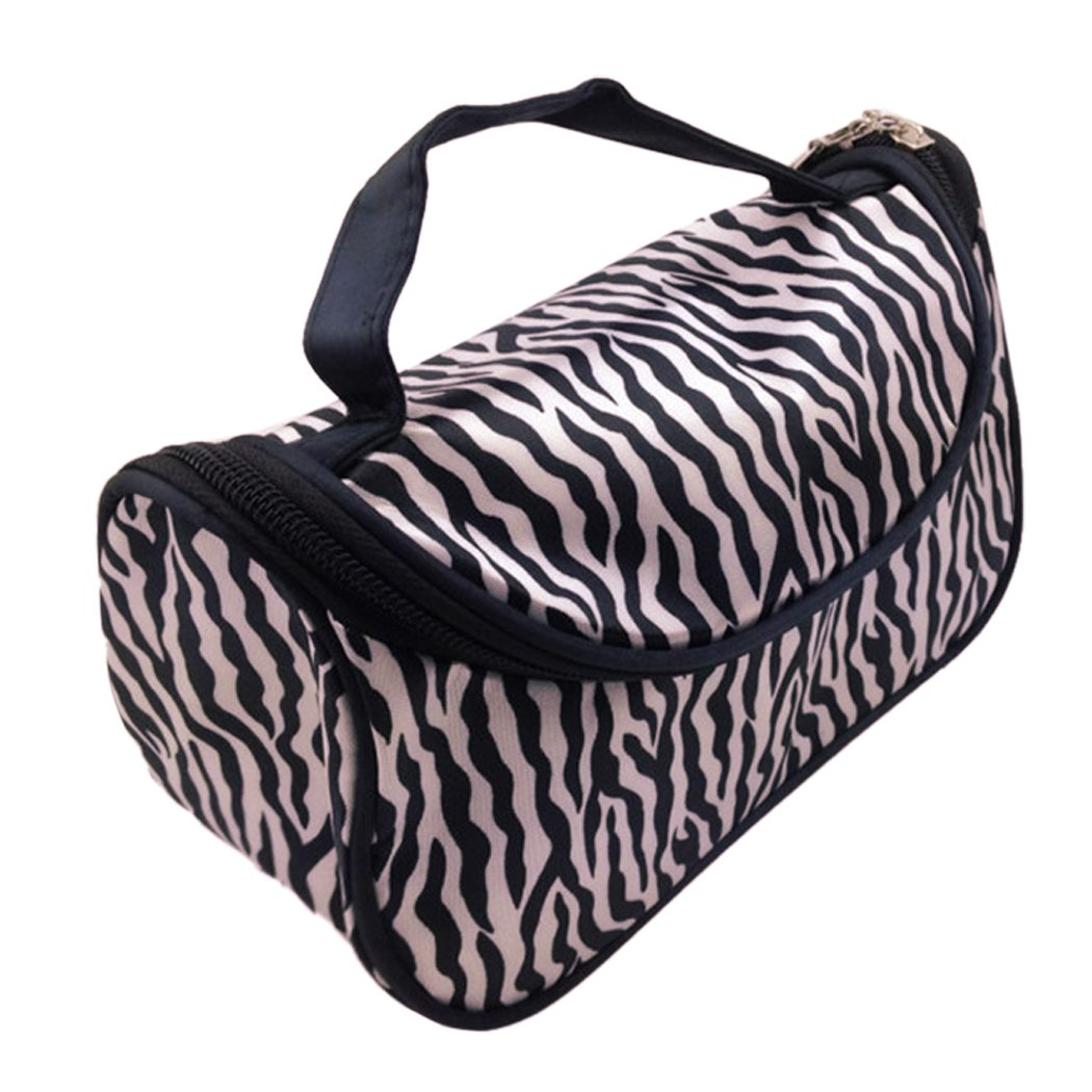 Flagup Leopard Print Makeup Bag
