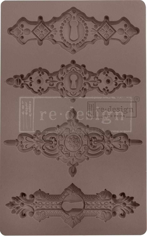 Prima Marketing Tulumn Keyholes, Redesign Mould 5X8 TUL