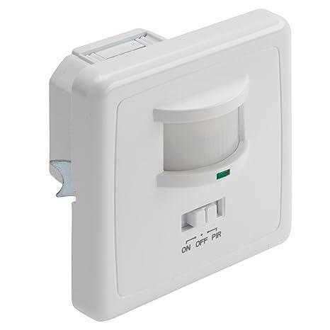 Detector de Presencia para Empotrar 160º hasta 600W/200W