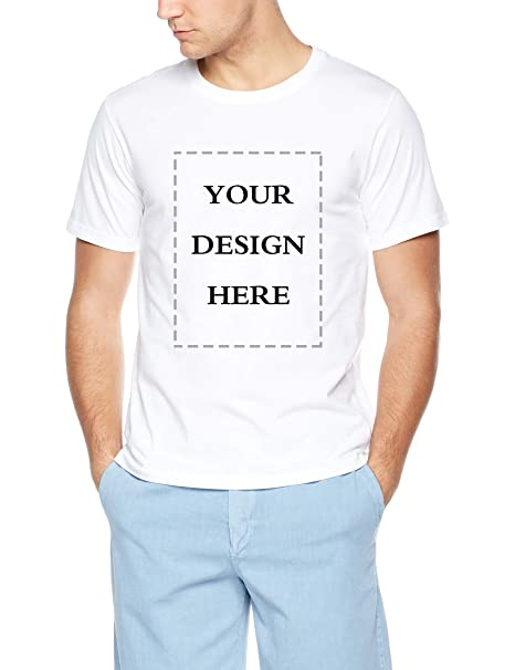 Custom Image T Shirt Diy White T Shirts For Men Add Your Text Personalized Image