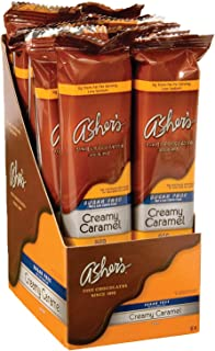 product image for Asher's Chocolates, Sugar Free Chocolate Bars, Small Batches of Kosher Chocolate, Family Owned Since 1892, Keto Chocolate (12 Bars, Creamy Caramel)