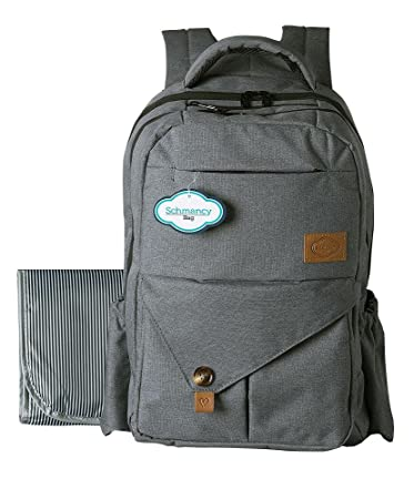454ac4b8cda Baby Diaper Bag Backpack By Schmancy Bag - Large Bag For Moms   Dads -  Fashionable