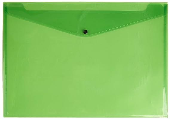 PP de sobres a7quer, farb. sort transparente, 10/unidades