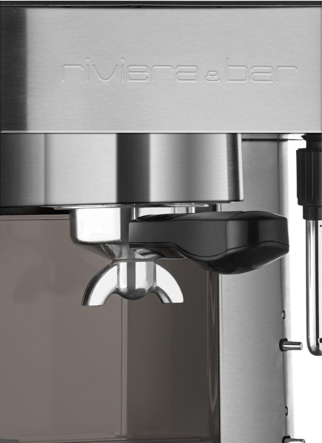 Riviera & Bar CE342A - Cafetera de espresso manual, color gris ...