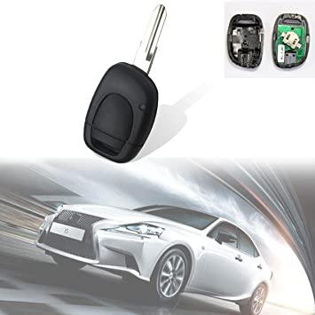 Car 433MHz PCF7946 Chip Smart Remote Key Case Fit For Renault Clio Master Kango