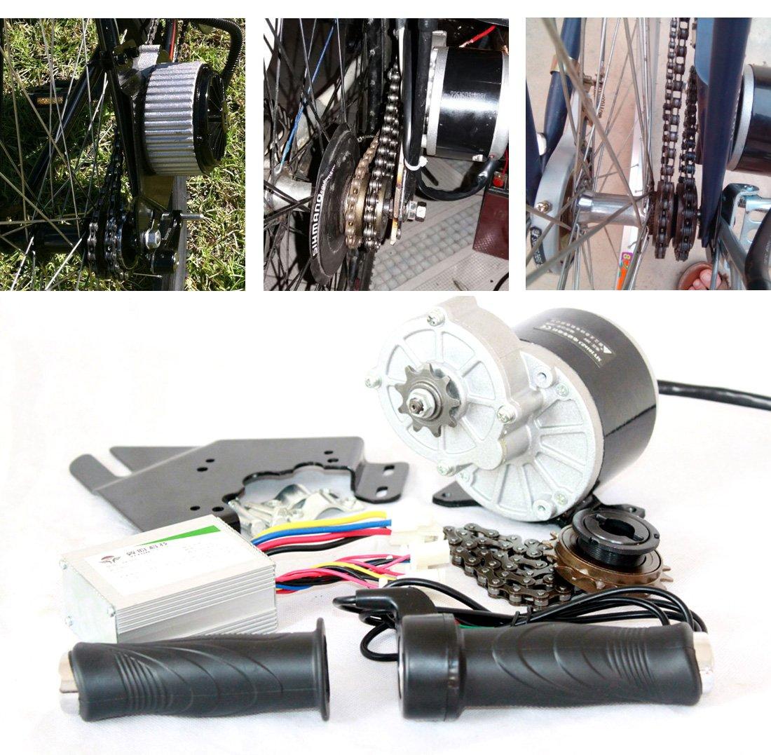 24V36V350W電動キット電動スクーターコンバージョンキットDIY電子自転車自家製電動自転車L-faster ebike motor [並行輸入品] B0784C8SLR 36V350W