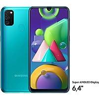 Samsung Galaxy M21 SM-M215F Çift SIM, Akıllı Telefon, 64 GB, Yeşil