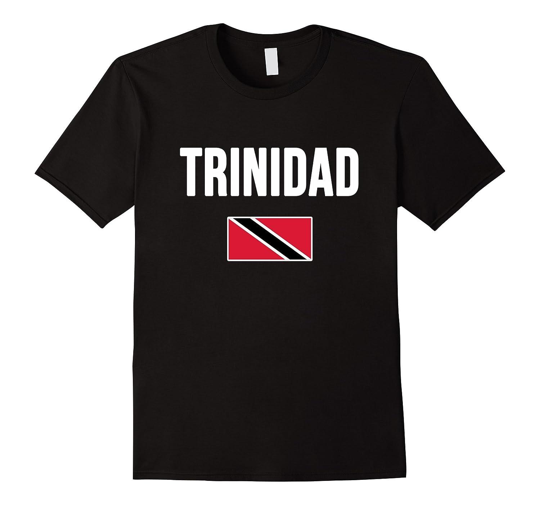 TRINIDAD and TOBAGO T-shirt Trinidadian Flag Tee-CD