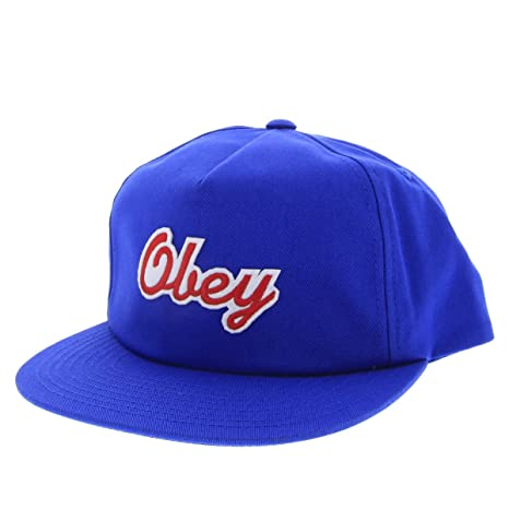 Obey LANEY SNAPBACK Cobalt Summer 2015 - UNICA: Amazon.es ...