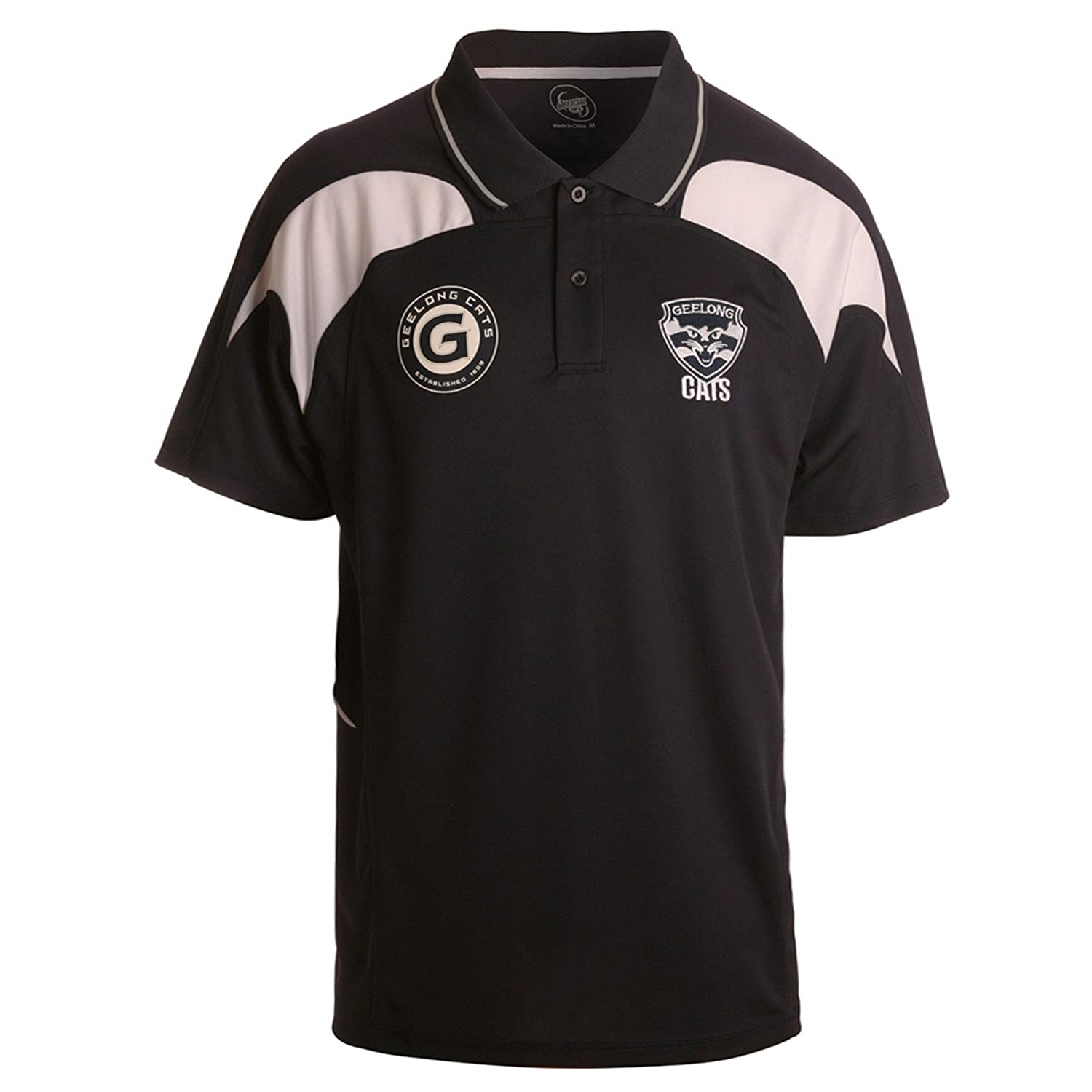 Small Small Small Geelong Cats AFL Footy Premium Polo a71b54